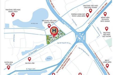 Bán căn hộ 2 phòng ngủ ngay gần cầu chui Nguyễn Văn Cừ, 1,19 tỷ có nội thất, hỗ trợ vay 70%