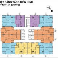Chính chủ bán gấp căn hộ 2 phòng ngủ - 2 WC, chung cư Startup Tower, 1.5 tỷ