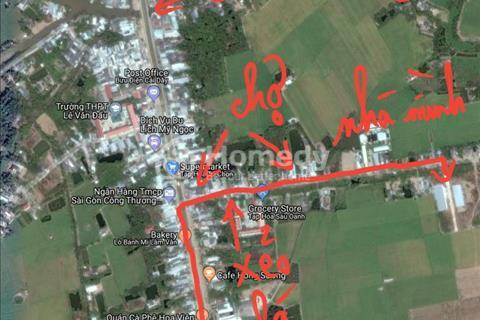 Cho thuê nhà mới nguyên căn gần thành phố Bạc Liêu giá 3 triệu/tháng