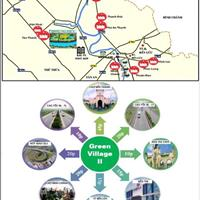 Đất nền biệt thự ven sông Green Village 2 diện tích 500m2 giá chỉ 750tr/ nền, nhận quà liền tay