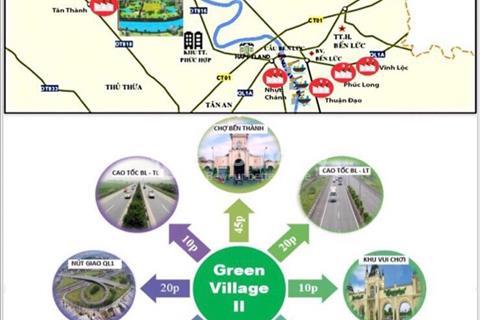 Mở bán đất nền khu dân cư Green Village - không gian xanh cho cuộc sống xanh