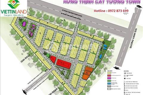 Đất nền dự án Hưng Thịnh Cát Tường Town giá rẻ