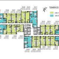 Cần bán căn hộ C507 hướng tây bắc, 1 phòng ngủ tầng 37, chung cư D' Capitale Trần Duy Hưng