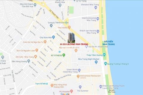 Chỉ còn lại một căn hộ kề góc 2 phòng ngủ với giá tốt nhất dự án,  HUD Building Nha Trang