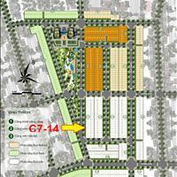 Chính chủ cần bán gấp lô Eco Future park C7-14, 110m2 view công viên