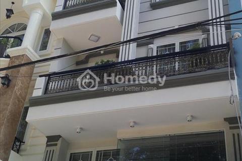 Nhà mới 1 trệt 2 lầu, mặt tiền An Dương Vương Quận 8, 4.5x12m, sổ hồng riêng chính chủ