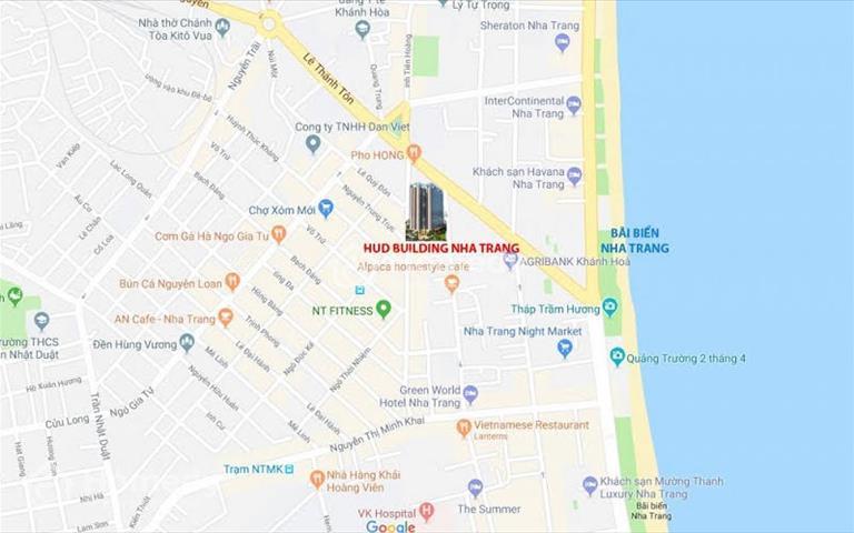Bán chung cư HUD Nha Trang – số 4 Nguyễn Thiện Thuật, giá 1,8 tỷ, trả chậm