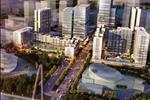 Dự án nằm ngay chân cầu Thủ Thiêm 2 bên tay trái là Quảng trường trung tâm Thủ Thiêm; phía trước mặt là sông Sài Gòn nhìn về trung tâm Quận 1.