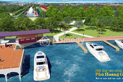Biệt thự ven sông liền kề Vincom, ngay trung tâm thành phố, sổ hồng riêng, 10 triệu/m2