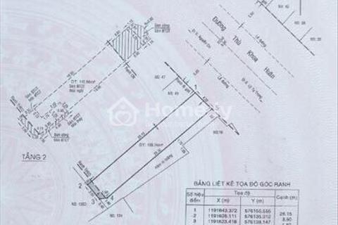 Cho thuê nhà mặt tiền đường Thủ Khoa Huân, Bến Thành, quận 1, tiện mở quán bar, kinh doanh