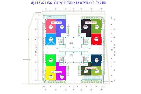 Bán 1300m2 sàn thương mại CT36 Xuân La, Tây Hồ, giá chỉ từ 39 triệu/m2, bàn giao tháng 9/2018