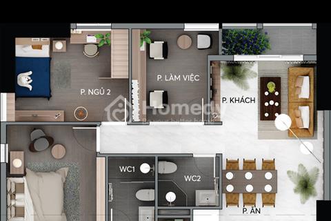 Bán căn hộ nhà ở Centana Thủ Thiêm, phường An Phú, Quận 2, 97m2 giá 3 tỷ 369 triệu