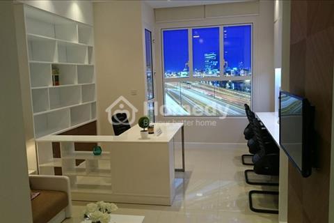 Cho thuê giá rẻ căn hộ Officetel làm văn phòng hoặc ở River gate Quận 4 chỉ 11,5 triệu/tháng