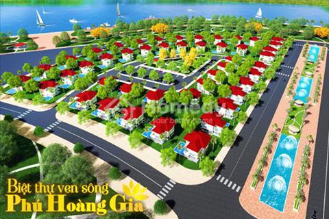 Làng biệt thự Phú Hoàng Gia – được quy hoạch là khu Phú Mỹ Hưng của Tân An – chỉ 10 triệu/m2