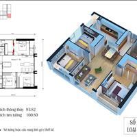 Cần bán căn hộ 3 phòng ngủ, 95m2, giá 2,6 tỷ, chung cư Eco Green Nguyễn Xiển