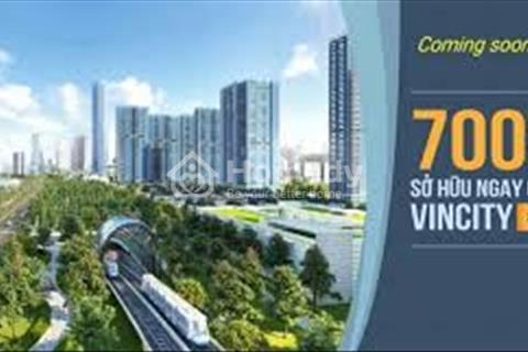 Vincity Hồ Chí Minh, chỉ từ 140 triệu sở hữu căn hộ, trả góp 6 triệu/tháng