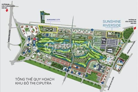 Căn hộ Sunshine Riverside, 2,5 tỷ cho căn hộ 2 phòng ngủ, 72m2, chiết khấu đến 300 triệu