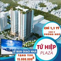 Dự án chung cư Tứ Hiệp Plaza chỉ với 1,1 tỷ, 60m2