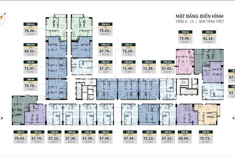 Căn hộ La Cosmo Tân Bình dự án sổ hồng lâu dài, giá 45 triệu/m2, thiết kế Duplex