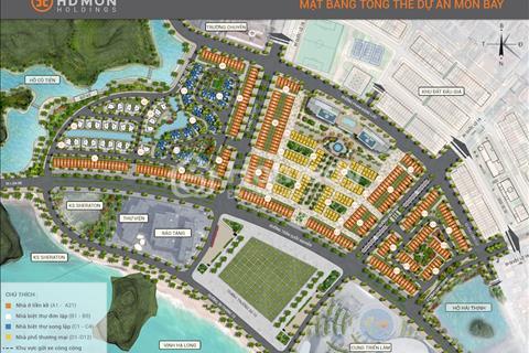 Bán lô VIP dãy A10 dự án Mon Bay Hạ Long, view quảng trường trung tâm