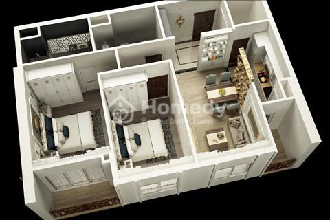 Bán căn hộ 2 phòng ngủ, trung tâm Mỹ Đình, gần trường học Quốc tế, sân vận động Quốc gia