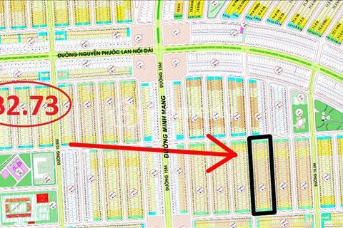 Bán lô 2X B2.73 đường thông 7,5m, sạch đẹp hướng Tây Bắc khu Nam Hòa Xuân