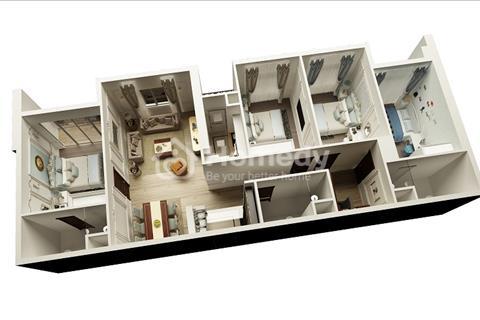Bán căn hộ 2-3-4 phòng ngủ, gần Keangnam, BigC Garden, trường học quốc tế, nội khu The Manor.