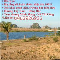 Mở bán hàng 5 lô đất duy nhất của dự án Hòa Quý ngay Minh Mạng