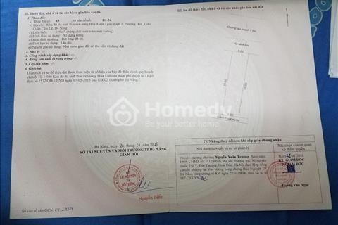 Gia đình cần bán lô đất B1.56 Hòa Xuân, Nguyễn Tri Phương, Đà Nẵng