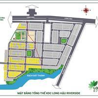 Mở bán dự án đất nền - sổ đỏ ngay cạnh khu công nghiệp Long Hậu