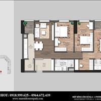 Bán căn hộ 3 phòng ngủ view nội khu đẹp nhất dự án The Emerald