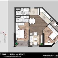 Bán căn hộ 2 phòng ngủ dự án The Emerald Mỹ Đình