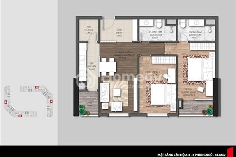 Cần bán căn 06 tòa E3 dự án The Emerald, ban công đông nam, view The Manor