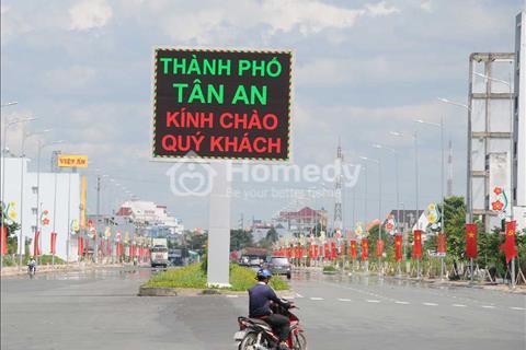Bán đất biệt thự trung tâm thành phố Tân An 638m2, sổ hồng riêng trao tay ngay