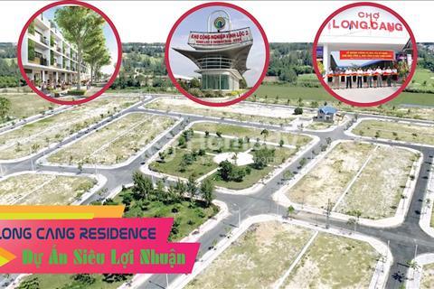 Đất nền dự án Long Cang Residence - giá chỉ 650 triệu/nền, hỗ trợ vay 65%, thanh toán trước 35%