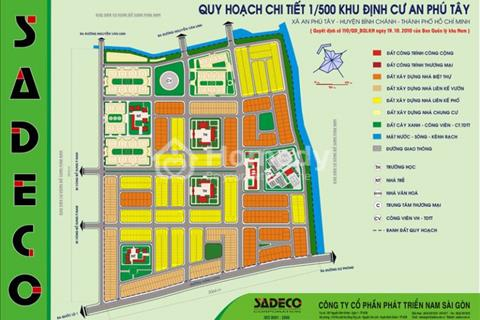 Bán lô góc 194 khu dân cư An Phú Tây, Bình Chánh, giá 24,5 triệu/m2