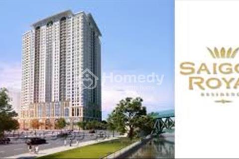 Saigon Royal, Quận 4, chủ cần bán căn hộ, giá tốt nhất Sài Gòn, 53m2 1PN + 1, giá 3,75 tỷ bao hết