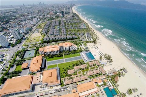 Đất biển Đà Nẵng, diện tích 300m2, mặt tiền đường 25m giá chỉ 14,5 triệu/m2, CK 8%, đã có sổ đỏ