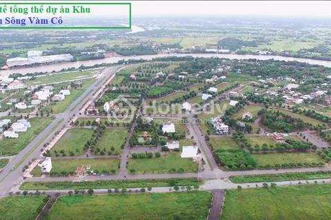 Khu đô thị ven sông Vàm Cỏ mở bán phân khu VIP nhất, chỉ duy nhất 5 nền ven sông