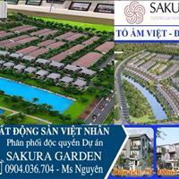 Bán nhà phố liền kề, biệt thự, Shophouse của dự án Sakura Garden do Vsip làm chủ đầu tư