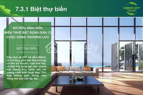 Chỉ với 3,5 tỷ đồng có thể sở hữu 1 căn hộ cao cấp tại thành phố Forest City