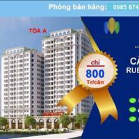 Chung cư Ruby CT3 Phúc Lợi - giá chỉ từ 18 triệu/m2 full nội thất