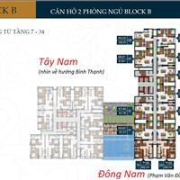 Căn hộ Phú Đông Premier, 66m2, 2 phòng ngủ 2WC, thanh toán trước 20%, 50% vay trong 2 năm lãi 0%