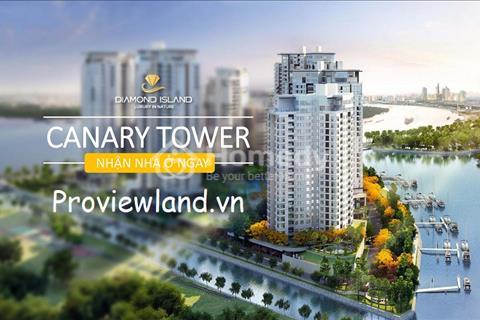 Căn hộ Officetel cần bán 1 phòng ngủ tại tháp Canary Đảo Kim Cương