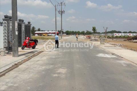 Bán đất Bình Chánh quốc lộ 50, ngay mặt tiền, chỉ 700 triệu/nền, sổ hồng riêng