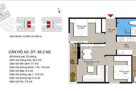 Chính chủ cần bán căn 58m2 tầng 22 tại Hateco Xuân Phương - Giá 1.25 tỷ - Bao phí