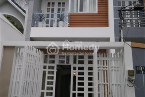 Bán gấp nhà mặt tiền đường 37, phường Tân Quy, quận 7, gần trường học Lê Thánh Tôn