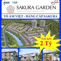 Dự án Sakura Garden - đại đô thị Bắc Sông Cấm - phong cách Nhật - môi trường sống Singapore