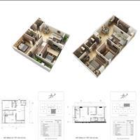 Căn hộ 2 phòng ngủ tại chung cư cao cấp The Terra Hào Nam - 64m2 và 76m2 thông thủy