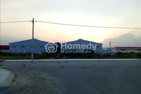 Đất nền ngay trung tâm khu công nghiệp Tân Đô - Hải Sơn, Đức Hòa, Long An